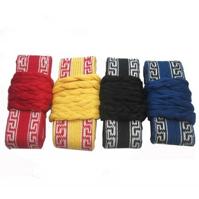 100% Cotton Chinese kung fu belt tai chi belt waistband for Martial Practice dance and Opera strip