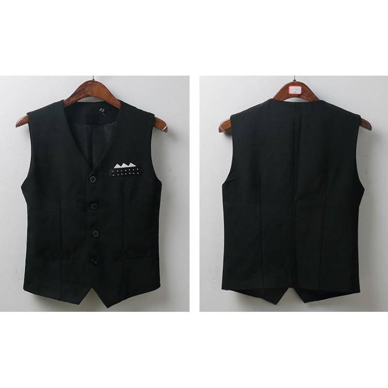 Mens Ballroom Dance Competition Vest