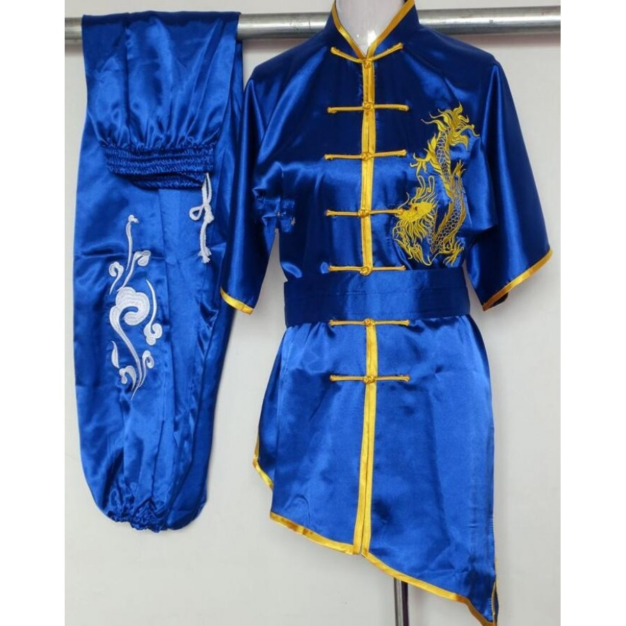 Chinese Kung Fu Uniform Wing Chun Changquan Martial Arts Performance Costume