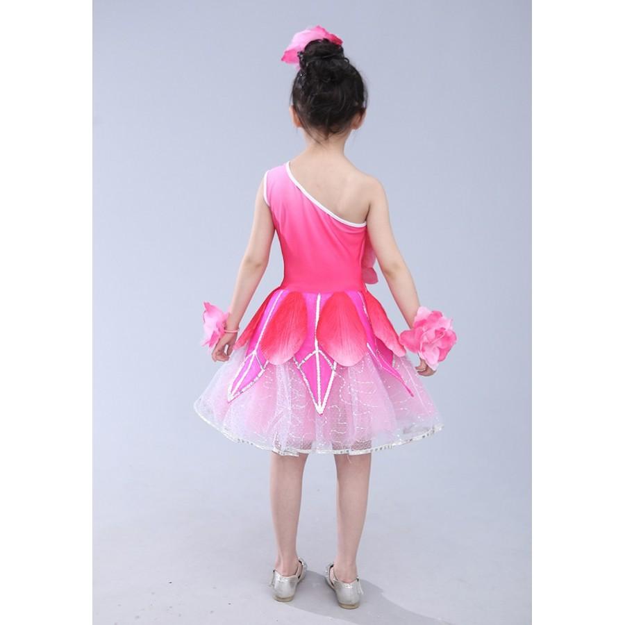 9cd4ecc80 Children  s dance costumes girls costumes peony lotus fairy princess ...