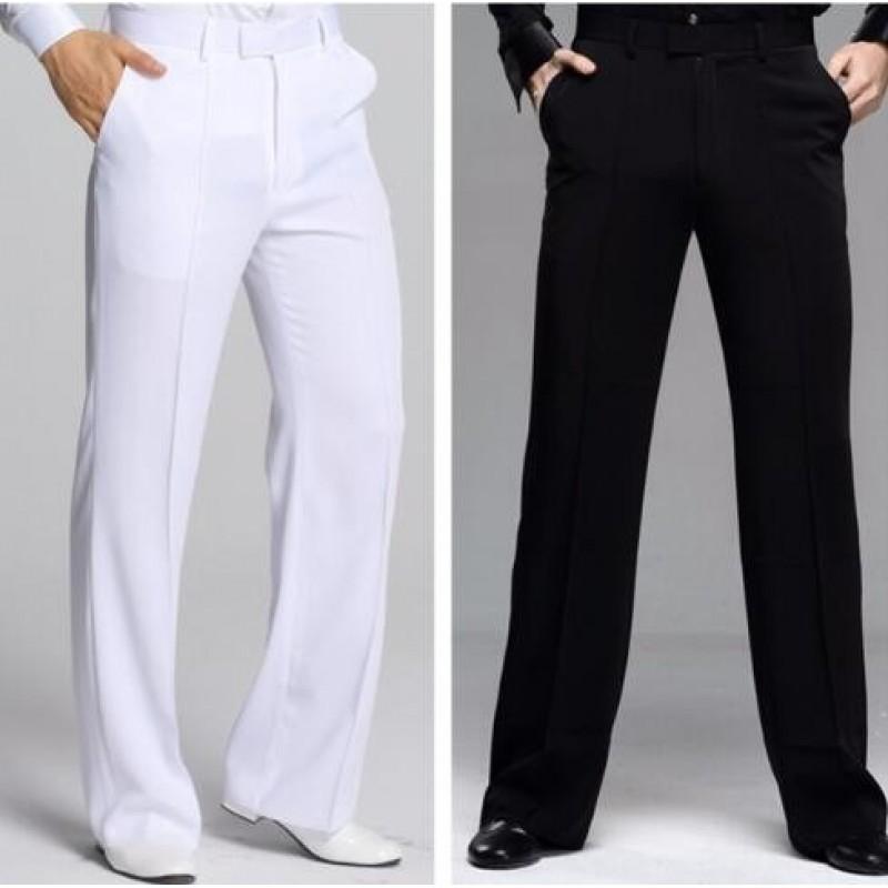 Men/'s Latin Ballroom Tango Modern Salsa Practice Dance Wear Pants Long Pants New