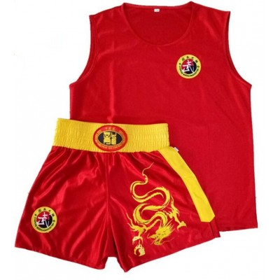 Boxing Shorts t shirt Men Women Muay Thai Sanda Taekwondo Fight Boxer Trunks jerseys Dragon Embroidery Free Combat Clothes