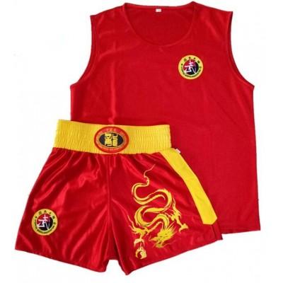 Boxing Shorts t shirt Men Women Muay Thai Sanda Taekwondo Fight Boxer Trunks jerseys Dragon Embroidery Free Combat Clothes