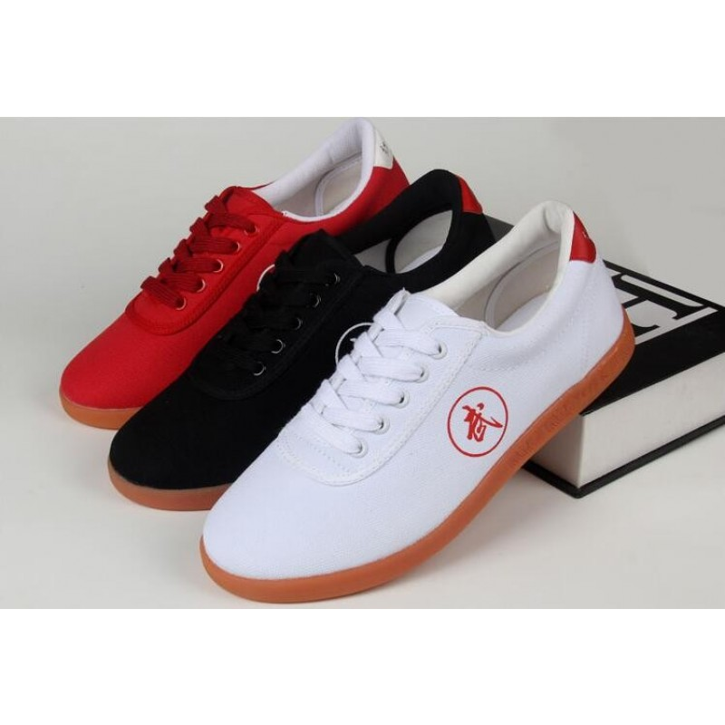 Canvas Tai Chi Shoe Tendon Good Quality Martial Art Shoes Soft Bottom Practice kung fu Shoes Wingchun Shoes