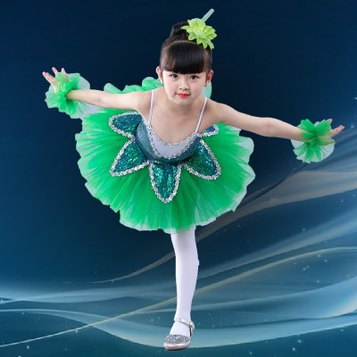 Children ballet pengpeng skirt, children's sequins, Tutu Dress, children's costume.