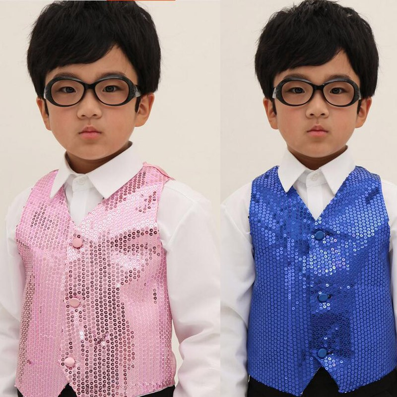 7bfeba3621b4 Children Shining Clothes Boys Choir Students Performance Costumes ...
