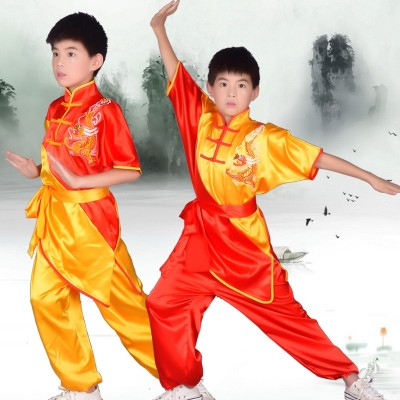 children's Nanquan martial arts performance clothing martial arts competition clothing Shaolin Kungfu clothing