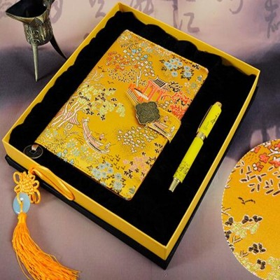 Chinese style notebook set folk characteristics crafts gifts