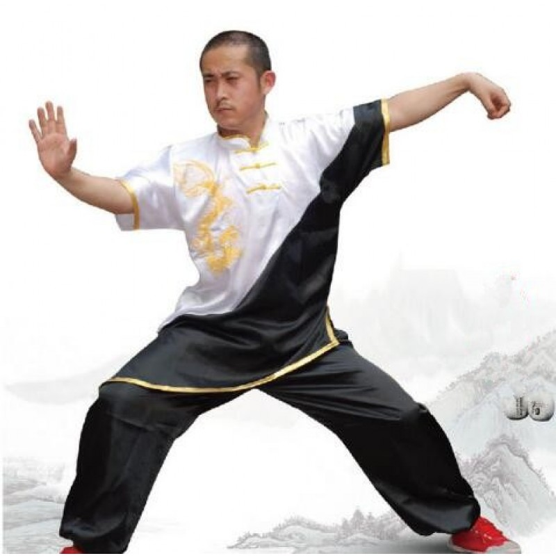 Chinese Tai Chi Garment Taiji Clothes Martial Arts Suit Kungfu Uniform Wushu Costume For Women Girl Men Boy Kids Adults Up-To-Date Styling Home