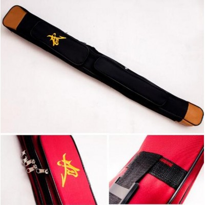 Double layer tai chi sword bags,Oxford Fabric Wushu carry case Weapon Bag kendo bag Embroidery Chinese characters length 110cm,