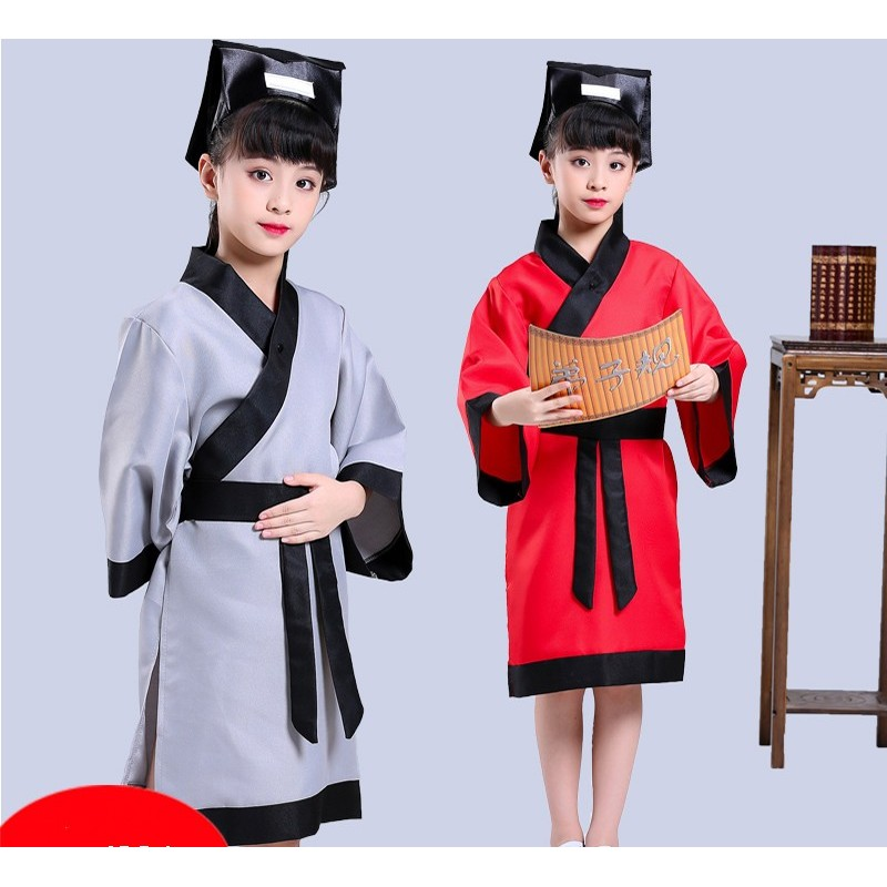 caf6f91f6 girl s traditional Chinese costume Han costume girl s performance ...