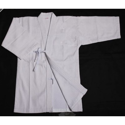 Kendo Uniform High Quality Kendogi Martial Arts Apanese Kendo  Aikido  White Color (Top Only)