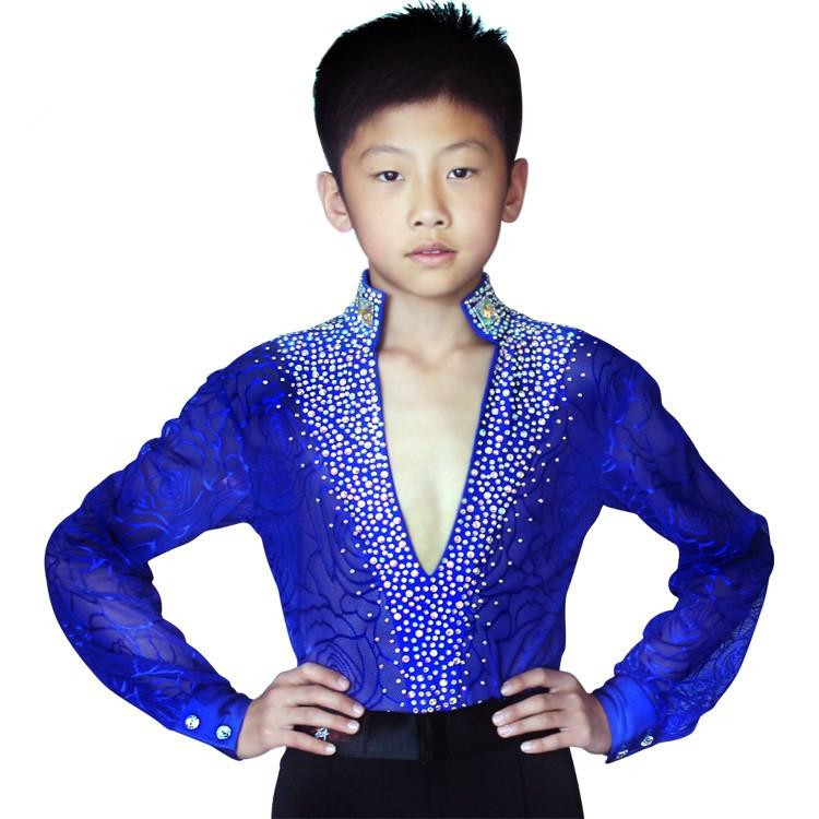 Latin Dance Competition Costumes Kids Boys Latin Ballroom Dance Dress Suit Performance Clothing  sc 1 st  Moderndancedress.com & Latin Dance Competition Costumes Kids Boys Latin Ballroom Dance ...