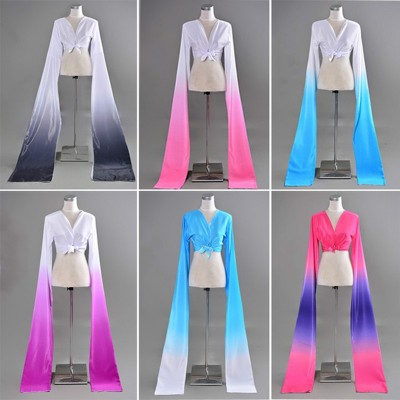 Long Sleeve Chinese Yangko Dance Costume Chinese Fency Dance Dress for Show Women Female Traditional National Dance Costume 89