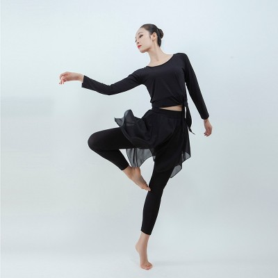 Modern dance grading pants ballet pants Latin jazz pants modern dance practice pants elegant skirt pants training pants costumes pants