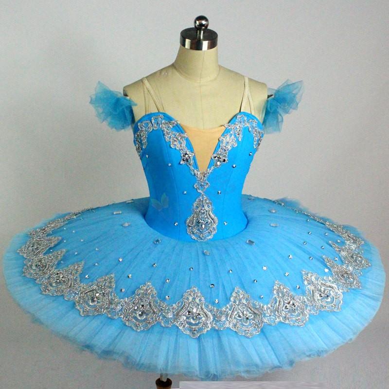Professional Ballet Tutus Adult Swan lake Ballet Dance Clothes for girls Pancake tutu Child Ballerina Figure Skating Dress