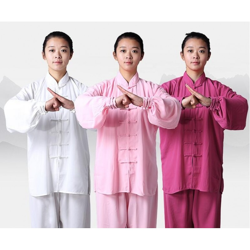 Chinese Traditional Women/'s Kung Fu Taichi Martial Arts 100/% Cotton Shirt Jacket