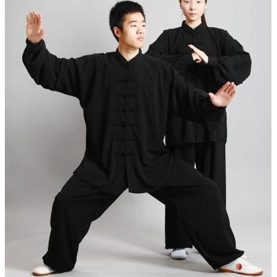 Tai chi clothing Martial arts Suit Taijiquan practice Wushu performance clothes Kungfu uniforms
