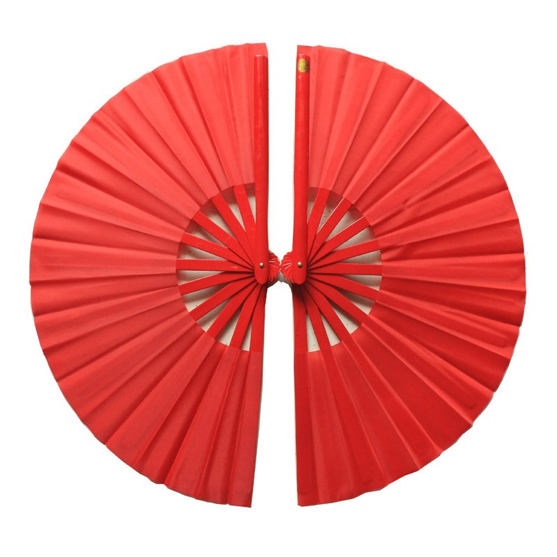 Tai chi double fan ,kung fu taiji fan bamboo fan Martial arts double fan (1 pair)