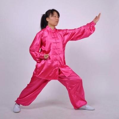 WOMEN'S Long sleeve Tai Chi clothing South Korea Martial Arts Costume wushu Performance Suit