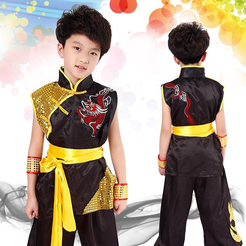 wushu shaolin changquan short sleeve clothing men women