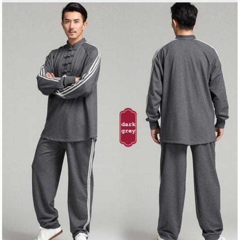 Warm Cotton Men Tai chi clothing Taijiquan Suits Wushu