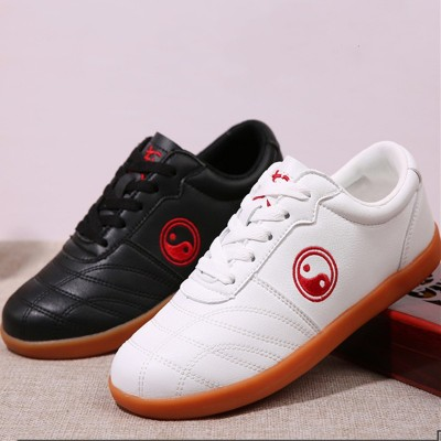 Tai Chi shoes for men and women Chinese kung fu shoes Soft Beef tendonsole Exercises training sport Martial arts wushu performance shoes